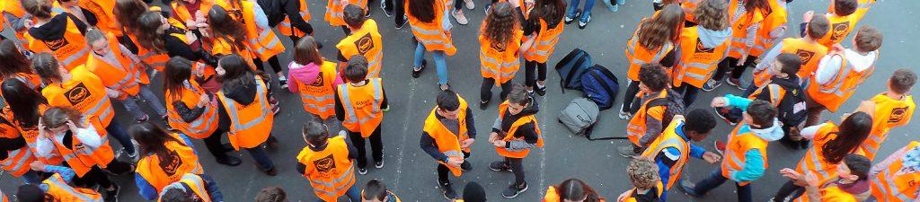 Des jeunes se mobilisent pour la Banque Alimentaire